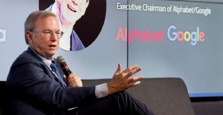 Alphabet Yönetim Kurulu Başkanı Eric Schmidt istifa etti!