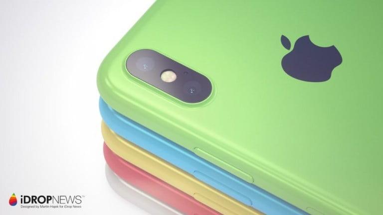 iPhone Xc Konsept Görüntüleri Yayınlandı