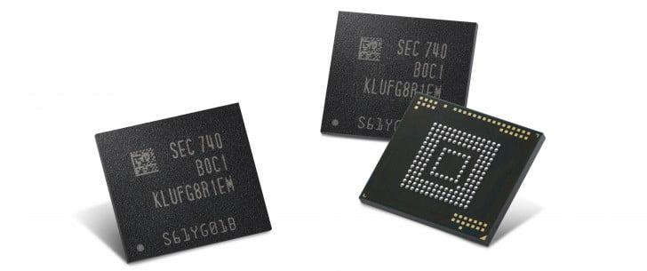 Samsung, akıllı telefonlardaki hafızayı 512GB'ta çıkartacak!