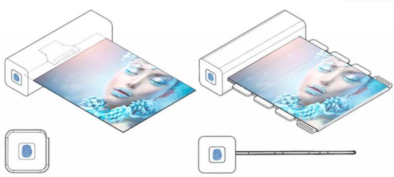 Samsung, parmak izi ile açılan ekran patenti aldı!
