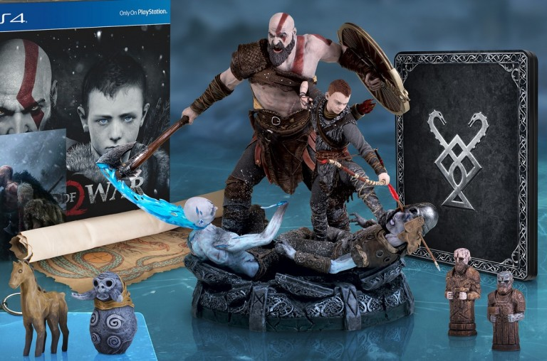 Yeni God of War'ın çıkış tarihi ve koleksiyonluk sürümleri belli oldu
