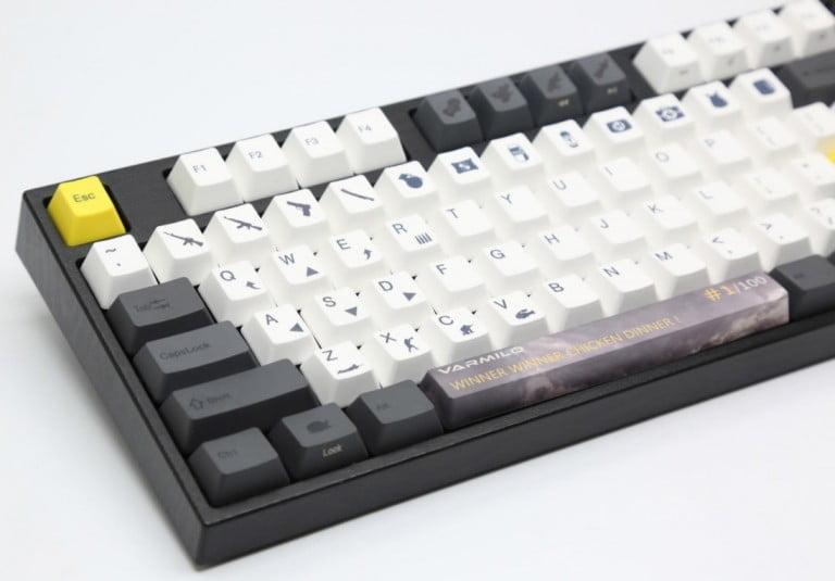 PUBG oyuncuları için özel mekanik klavyeler üretildi