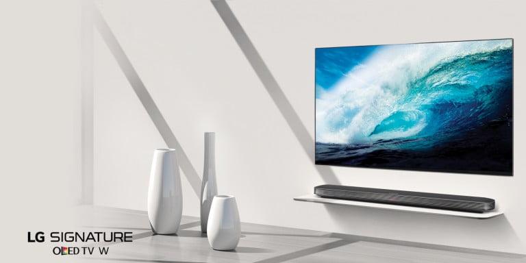LG 2018 Model TV'lerini Gösterdi