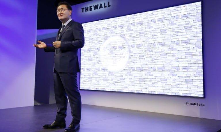 Ekranın geleceği : Samsung 'dan 146-inç The Wall