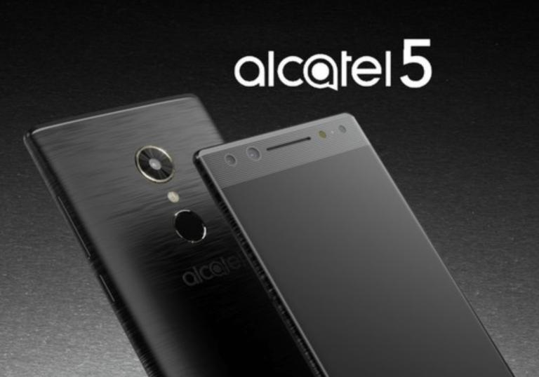 Alcatel 5'in Yeni Görüntüleri Sızdırıldı
