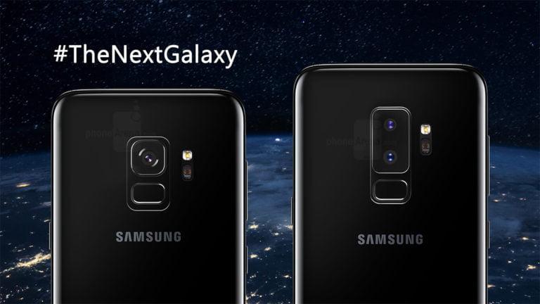 Galaxy S9 canlı canlı görüntülendi!