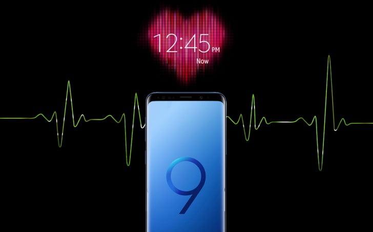 Galaxy S9 ve S9+ tansiyon ölçebiliyor!