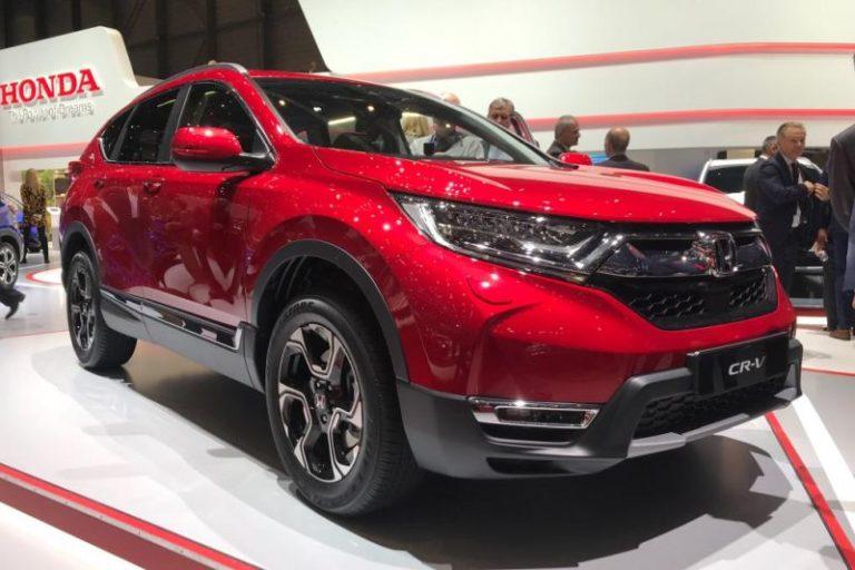 Yeni Honda CR-V Avrupa'ya ulaştı!