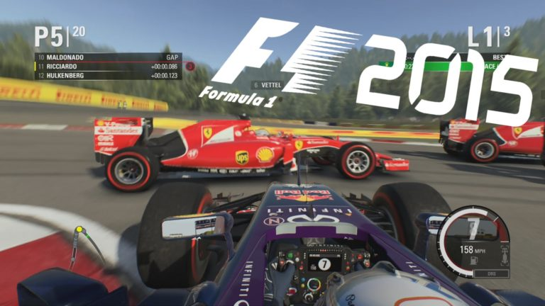 F1 2015 kısa süreliğine ücretsiz oldu! İşte indirme linki!