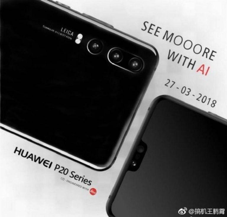 3 Arka Kameralı Huawei P20 Promo Görüldü
