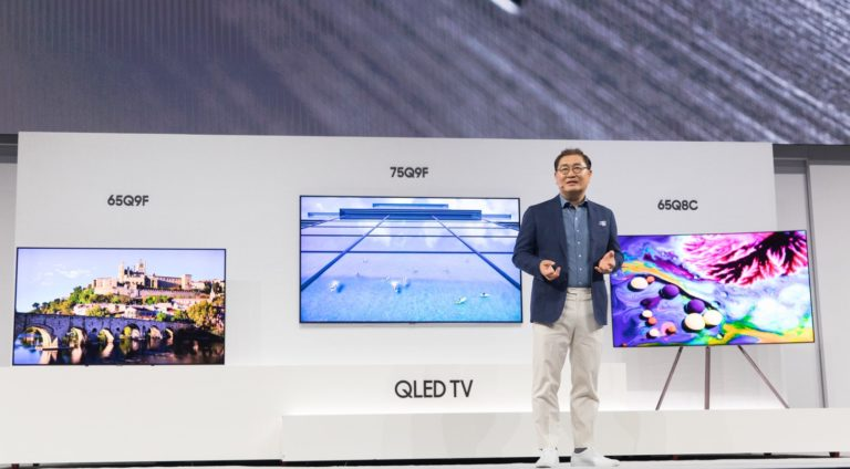 Samsung yeni televizyonlarını New York'ta tanıttı