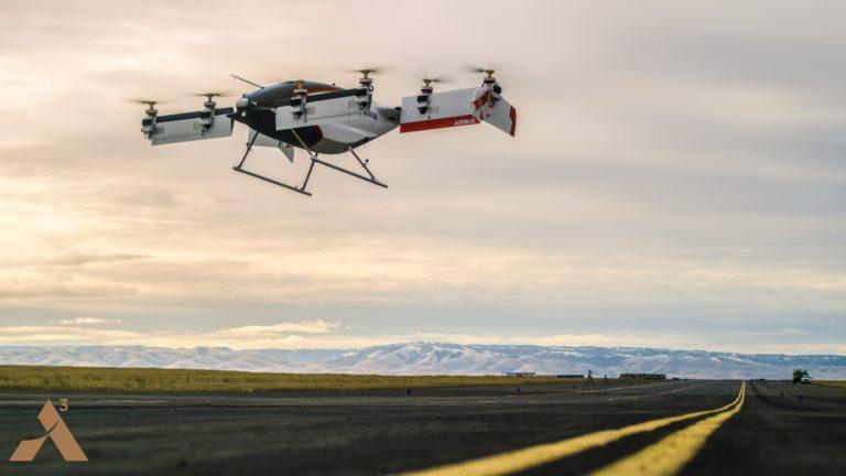 Vahana takımına ait Alpha One prototipi ilk 55 saniyelik uçuşunu tamamladı