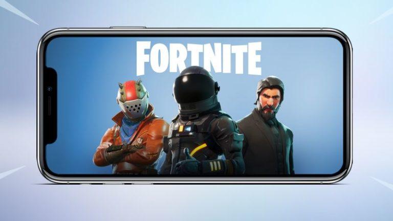 Fortnite Battle Royale iOS Sürümünü İndirebilirsiniz