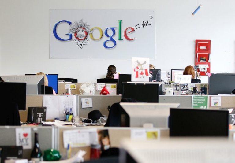 Google çalışanları yönetime tepkili!