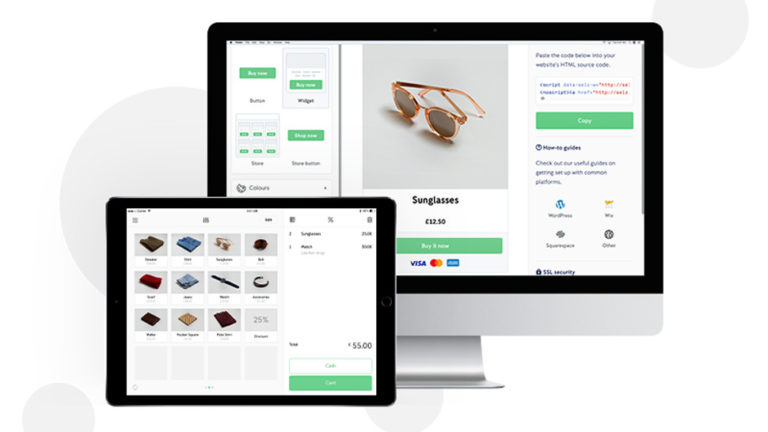 iZettle ile çevrimiçi mağaza platformuna hızlı giriş yapın