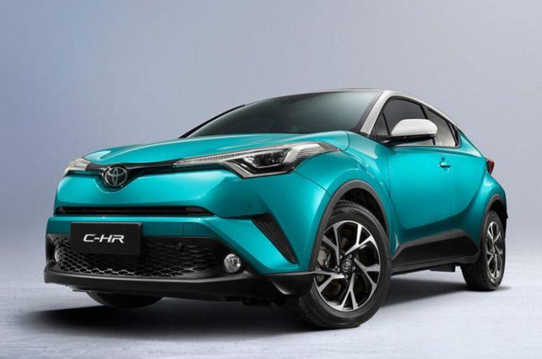Tamamen elektrikli Toyota C-HR, Pekin Otomobil Fuarı'nda ortaya çıktı!