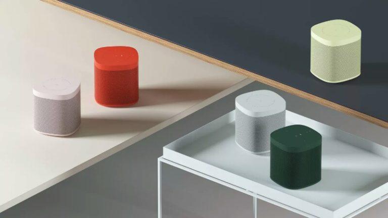 Sonos One akıllı hopörler yeni renkleriyle oldukça hoş bir tasarıma sahip