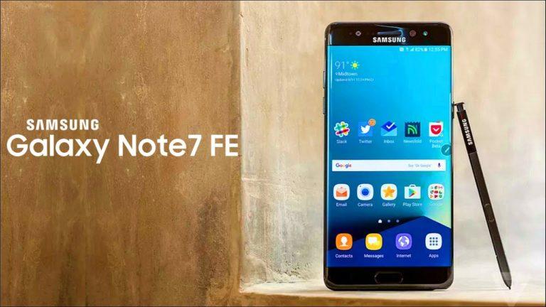 Galaxy Note7 FE Oreo güncellemesi yayınlandı