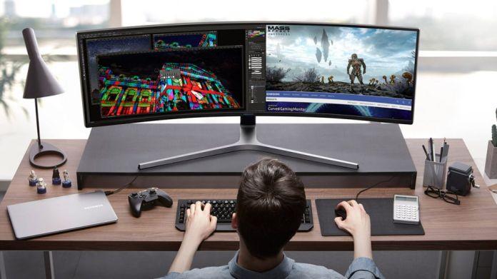 Samsung, 49 inch Ultra-geniş monitor ile size eski ekranlarınızı unutturacak