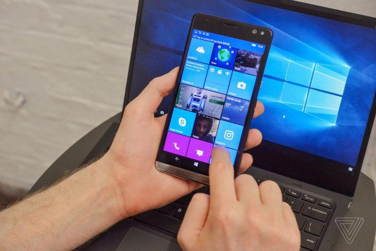 Microsoft, Windows 10 Mobile cihazlarını tüketti