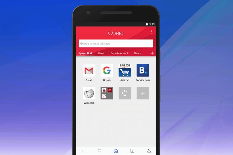 Android için Opera yeni özellikler ile güncellendi