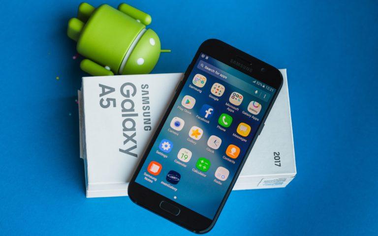 Galaxy A5 2017 için Android Oreo çıktı!