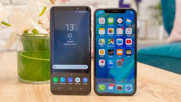Galaxy S9 hız konusunda iPhone X'a fark attı!