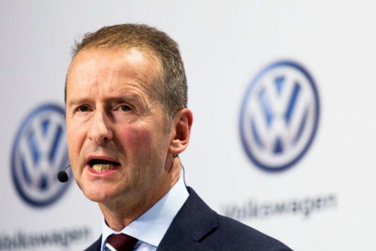 Volkswagen CEO'su ifade verecek!