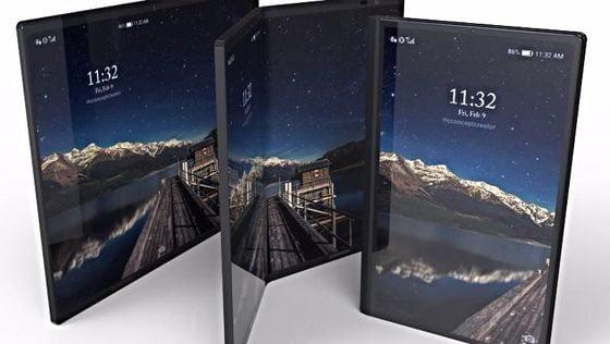 Samsung üç farklı ekrana sahip telefon ile geliyor