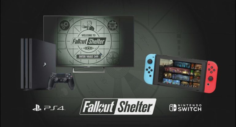 Fallout Shelter Nintendo Switch'e geldi!
