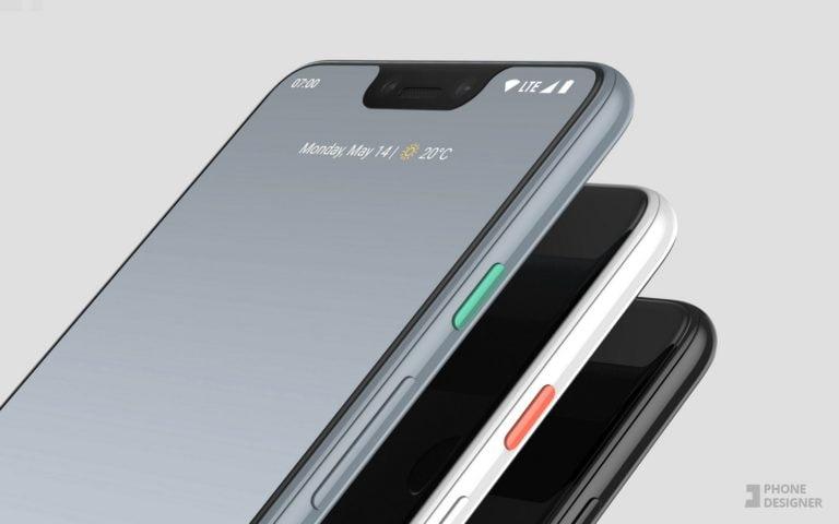 Pixel 3 XL'ın görüntüsüne yakından bakın