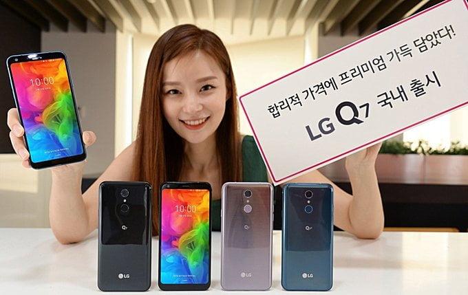 LG Q7 serisi