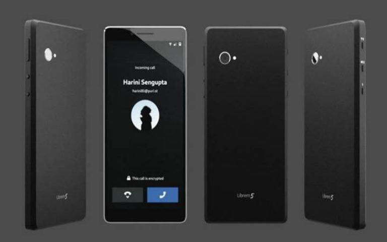 Yüksek güvenlikli Linux akıllı telefon Librem 5 geliyor