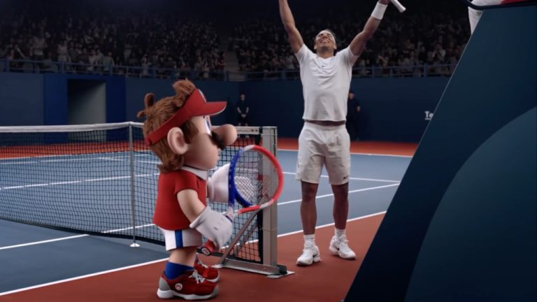 Rafael Nadal Mario Tennis Aces fragmanında!
