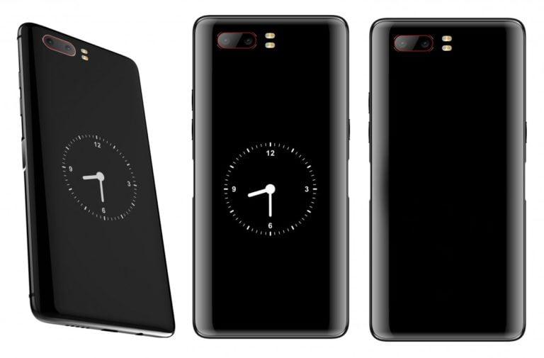 ZTE'den ilginç tasarımlı bir telefon geliyor