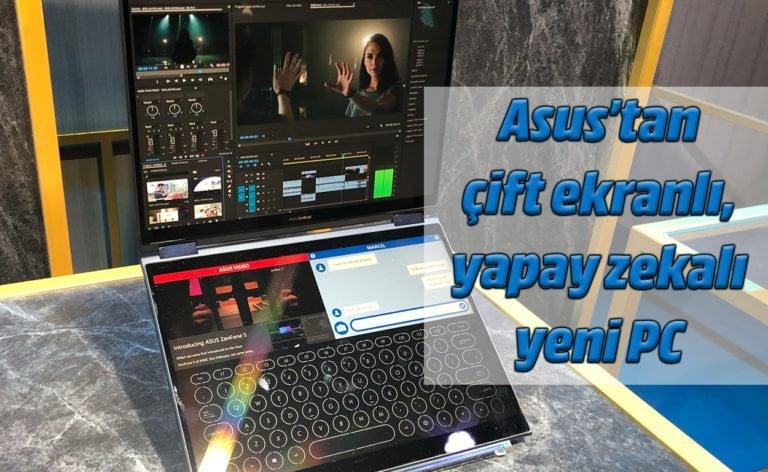 Asus'tan çift ekranlı yapay zeka destekli laptop: Asus Project Precog!
