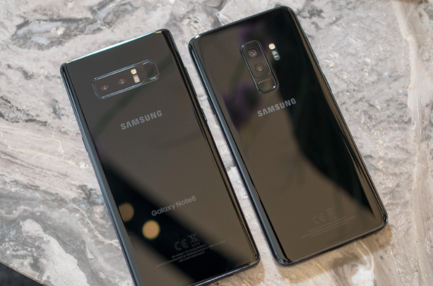 galaxy note 8 ve galaxy note 9