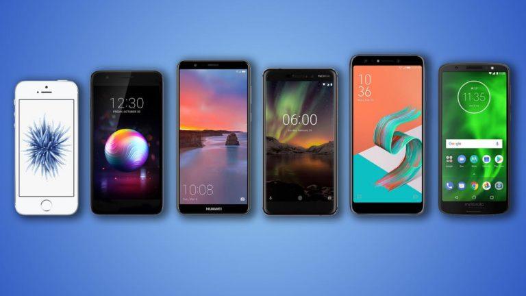 iPhone SE, LG K30, Huawei Mate SE, Nokia 6.1, ZenFone 5Q ve Moto G6 karşılaştırması