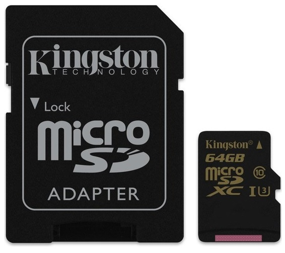 Kingston 64GB SDCG microSD kart inceleme