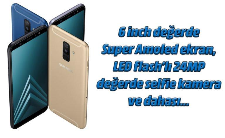Samsung Galaxy A6+ kamera detayları incelemesi