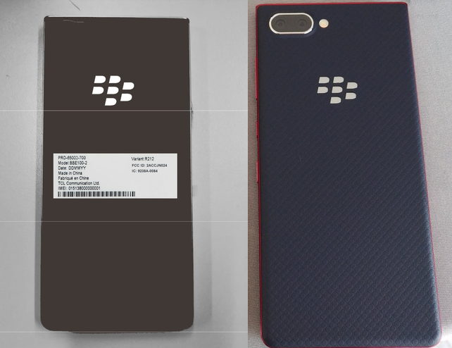 BlackBerry Key2 Lite FCC'den geçti