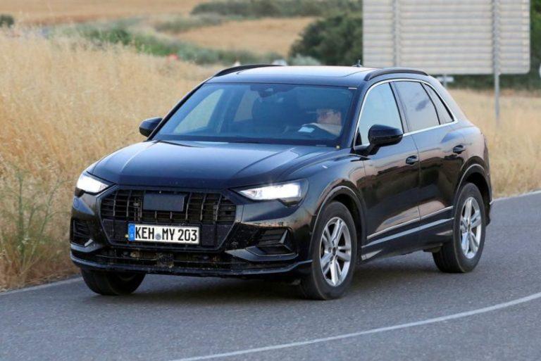 Yeni Audi Q3 casus kameralara böyle yakalandı!