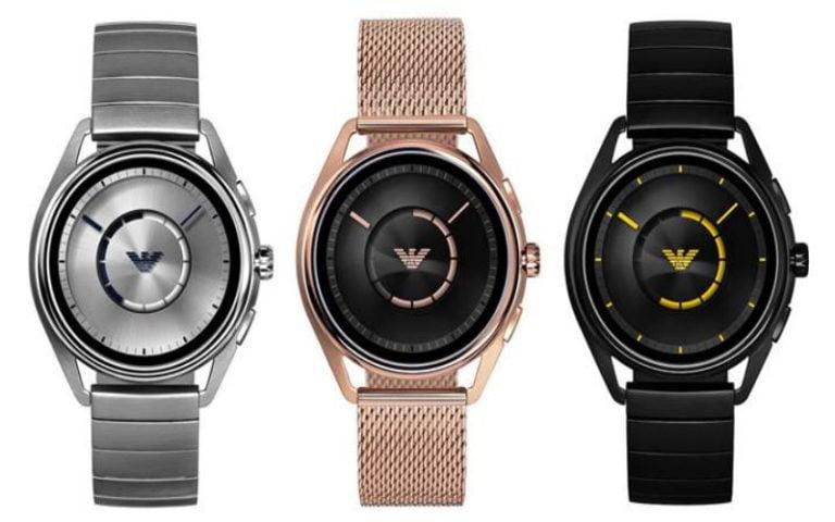 Emporio Armani yeni nesil Connected akıllı saati ile geliyor