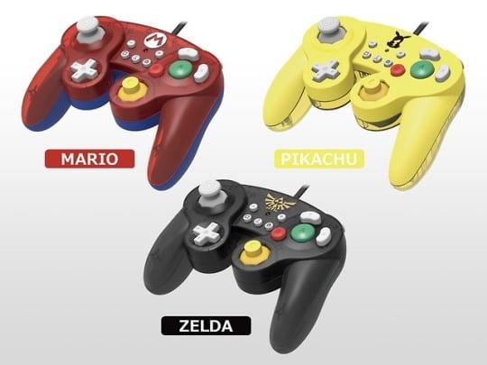 Hori'den Mario, Pikachu ve Zelda temalı kontrolcü!