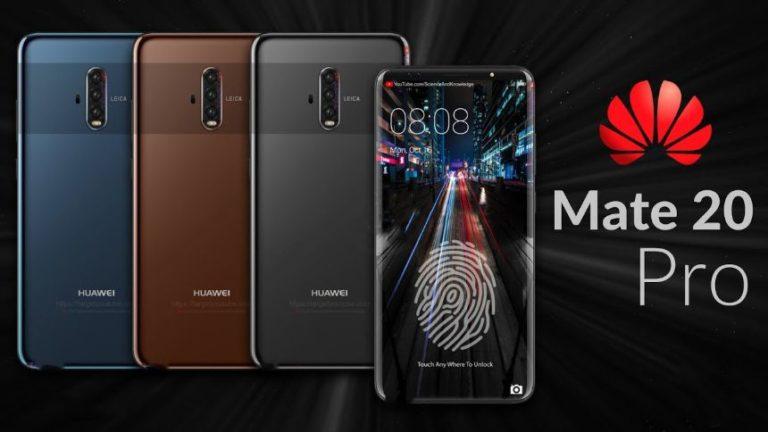 Huawei Mate 20'deki hızlı şarj özelliği dikkat çekecek