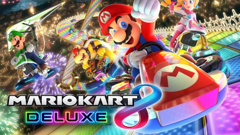 Mario Kart 8 Deluxe için Zelda Botw güncellemesi!