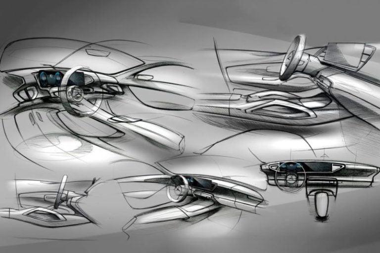 Yeni Mercedes-Benz GLE SUV'un eskizleri ortaya çıktı!