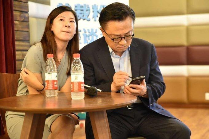 Samsung CEO'su Note 9'u kullanırken yakalandı