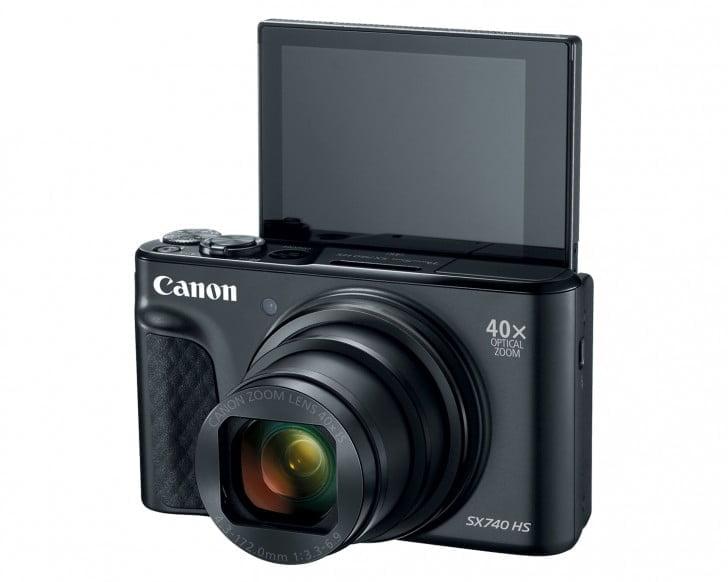40 kat optik zoom'lu Canon Powershot SX740 HS tanıtıldı