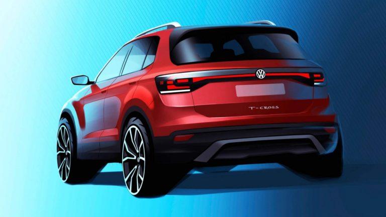 Volkswagen T-Cross için ilk teaser geldi!